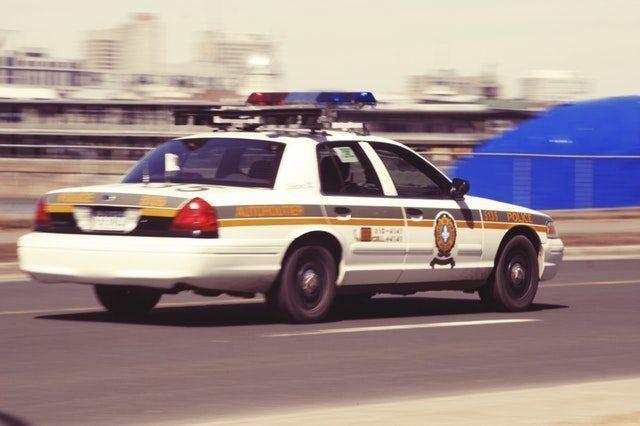 Traffic Stop Police Car